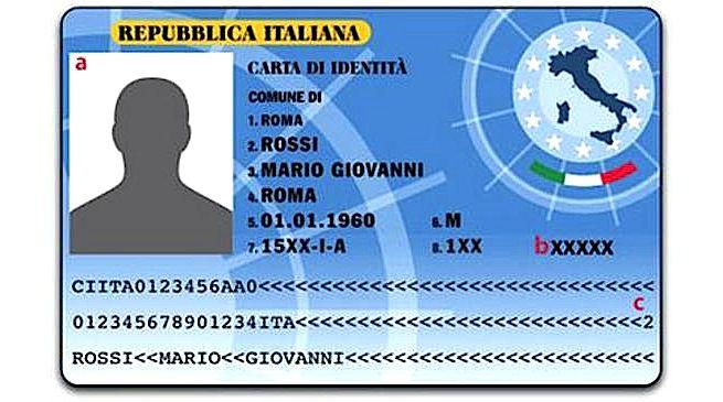 Carta d\'Identità - Comune di Fossano